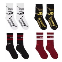 Free Shipping High Quality Mens Combed Cotton Socks Fashion Harajuku Street Rock Roll Summer Winter Casual Long Vetements Socks