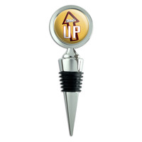 What's Up Casual Hello Greeting Wine Bottle Stopper