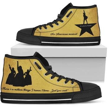 Hamilton The Musical Shoe
