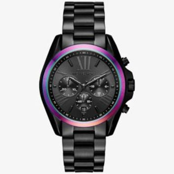Bradshaw Black-Tone and Iridescent Watch | Michael Kors