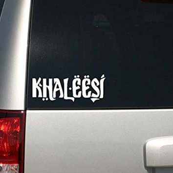 Game of Thrones Inspired Parody Khaleesi (Princess) Car or Laptop Decal Sticker