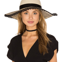 Eugenia Kim Honey Hat in Ivory, Camel & Black