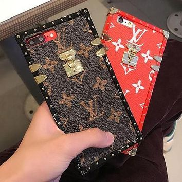 LV 2017 Hot ! iPhone 8 8 Plus iPhone X  - Stylish Cute On Sale Hot Deal Matte Couple Phone Case For iphone 6 6s 6plus 6s plus iPhone 7 iPhone 7 plus
