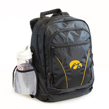 Iowa Hawkeyes NCAA 2-Strap Stealth Backpack