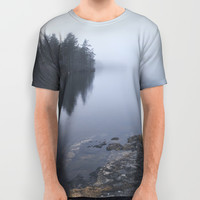 I love the rain All Over Print Shirt by happymelvin