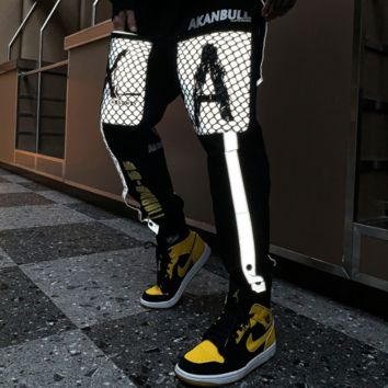 Fashion reflective overalls and trousers [4166050775076]