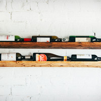 JM & Sons Wall Wine Rack