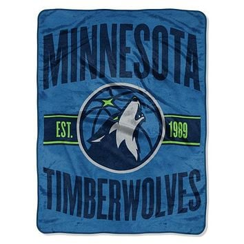 Minnesota Timberwolves NBA Clear Out Micro Blanket