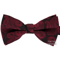 Tok Tok Designs Pre-Tied Bow Tie for Men & Teenagers (B41)