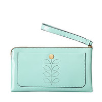 Orla Kiely - Patent Leather Flat Zip Purse