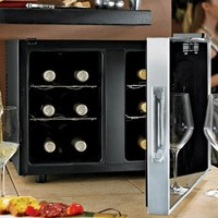 Touchscreen Silent Two Temp 12 Bottle Wine Fridge