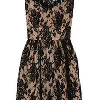 Issa | Cotton-blend lace dress | NET-A-PORTER.COM