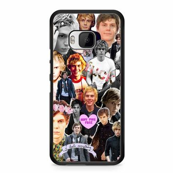 Evan Peters Collage 3 HTC M9 Case