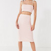 UO Kimmy Bodycon Midi Skirt | Urban Outfitters