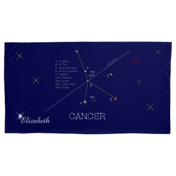 Constellation CANCER unique, impressive Pillow Case