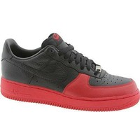 Beauty Ticks Nike Air Force 1 Low Black Varsity Red Men's Basketball Shoes 318274-001 Air Force One