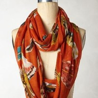 Sweet Plumage Loop by Anthropologie Orange One Size Jewelry
