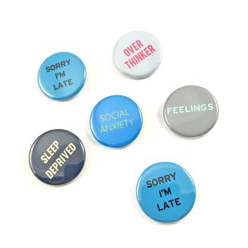 Feelings Button Pack