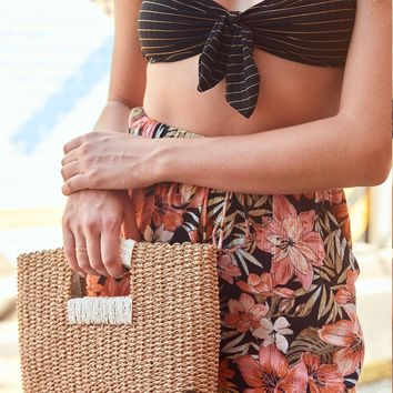 Coastal Dayz Straw Purse 828570403447 | Billabong