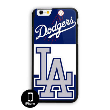 Los Angeles Dodgers Mlb Team Logo iPhone 6 Case