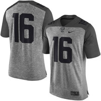 Nike Tennessee Volunteers Heather Gray Gridiron Gray Limited Football Jersey