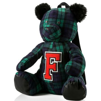 FENTY Puma x Rihanna Plaid Mascot Bear Backpack | Bloomingdales's