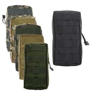 Airsoft Sports Military 600D MOLLE Utility Tactical Vest Waist Pouch Bag For Outdoor Hunting Wasit Pack Equipment ARE4
