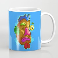 Chicken Tater Head Mug by Artistic Dyslexia | Society6