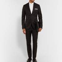 Calvin Klein Collection - Black Crosby Linen and Silk-Blend Suit | MR PORTER