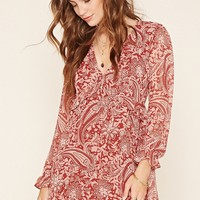 Contemporary Paisley Dress