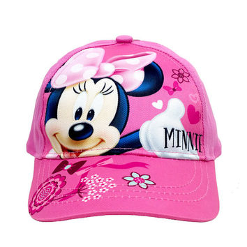 Disney Minnie Mouse Baseball Cap #BOW47