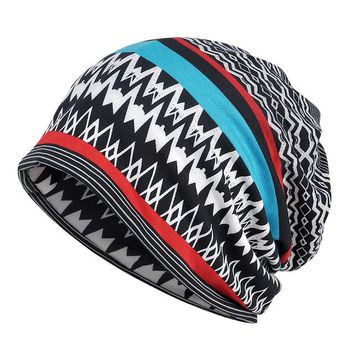 Sports Hat Cap trendy  Spring Summer Cotton Beanie for Women Men Hat Thin Lightweight Helmet Liner  Breathable Vintage Slouchy Baggy Skullie KO_16_1