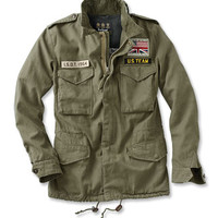 Steve McQueen Military Fatigue Jacket / Barbour® Casual Thunder Jacket -- Orvis