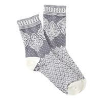 Lace Patterned Socks