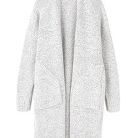 Light Gray Knitted Cardigan
