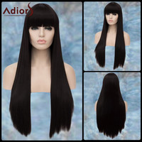 Adiors Gorgeous Long Full Bang Straight Lolita Synthetic Wig