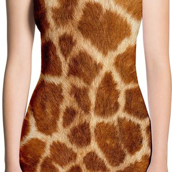 Giraffe Skin Dress