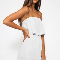 Love Yourself Playsuit - Grey