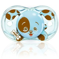 RazBaby Keep-It-Kleen Pacifier Percy Puppy