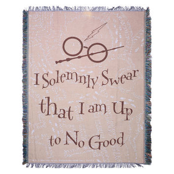 Harry Potter Solemnly Swear Tapestry Throw Blanket