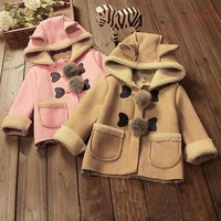 Baby Winter Jacket -  hooded parka-style baby coat