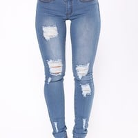 Love Of My Life Skinny Jeans - Medium