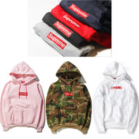 Comfortable Cozy Supreme Pullover Hoodies Sweatshirt