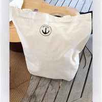 SAILOR TOTE- IVORY from shopoceansoul