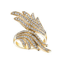 Anita Ko Wrap Wing Ring - Diamond Ring - ShopBAZAAR