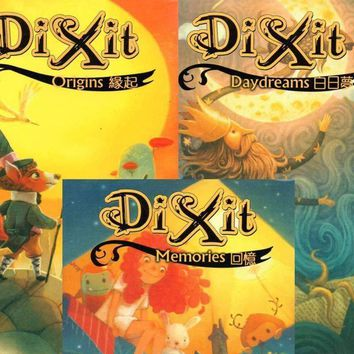 "3 Kinds "" DIXIT "" Board Game ,Extended Card Game , Kid's Board Game Educational Toy Easy Play With Free Shipping"