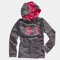 Girls' Armour Fleece Storm Big Logo Hoody | 1232174 | Under Armour US