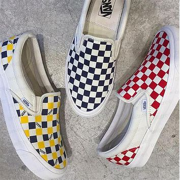 Tagre Vans Checkerboard Slip-On Sneaker