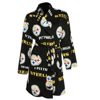 Pittsburgh Steelers Microfleece Robe