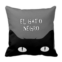El Gato Negro - The Black Cat REVERSIBLE